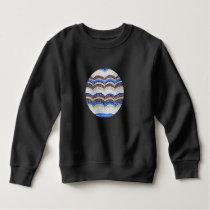 Blue Mosaic Toddler Sweatshirt