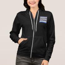 Blue Mosaic Women's Full-Zip Hoodie