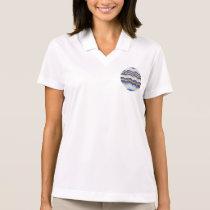 Blue Mosaic Women's Polo T-Shirt