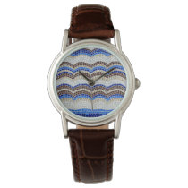 Blue Mosaic Women's Watch