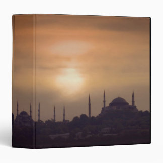 Blue Mosque and Hagia Sophia Turkey, Istanbul 3 Ring Binder