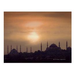 Blue Mosque and Hagia Sophia Turkey, Istanbul Postcard