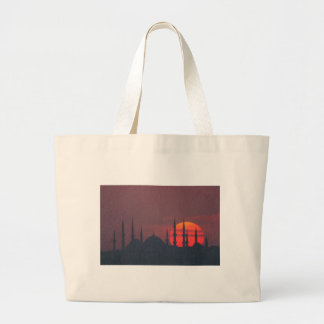 Blue Mosque and St. Sophia blend Canvas Bags
