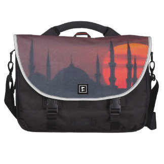 Blue Mosque and St. Sophia blend Commuter Bags