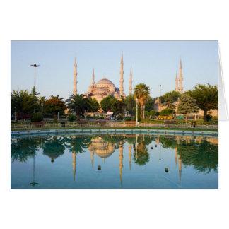 Blue Mosque at Dawn Card