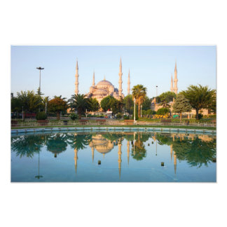 Blue Mosque at Dawn Photograph