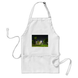 Blue Mosque At  Night. Adult Apron