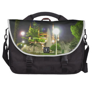 Blue Mosque At Night Laptop Bag