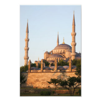 Blue Mosque at Sunrise Photographic Print