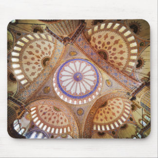 Blue Mosque Ceiling in Istanbul Mouse Pad