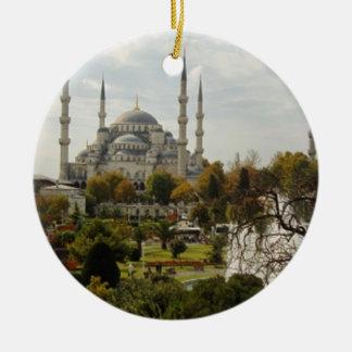 Blue Mosque Ceramic Ornament