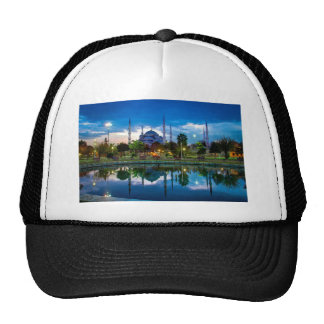 Blue Mosque in Istanbul Trucker Hats