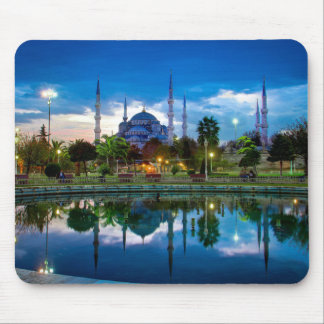 Blue Mosque in Istanbul Mouse Pad