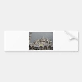 Blue Mosque in Istanbul, Turkey Bumper Stickers
