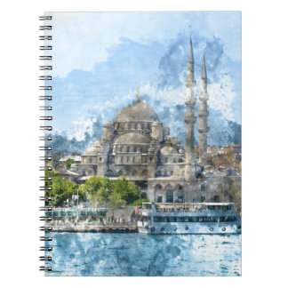 Blue Mosque in Istanbul Turkey Notebook