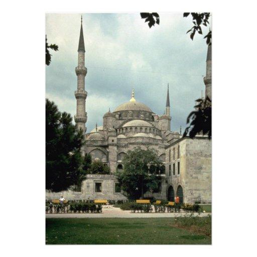 Blue Mosque, Istanbul, Turkey Custom Announcements