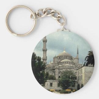 Blue Mosque, Istanbul, Turkey Keychain