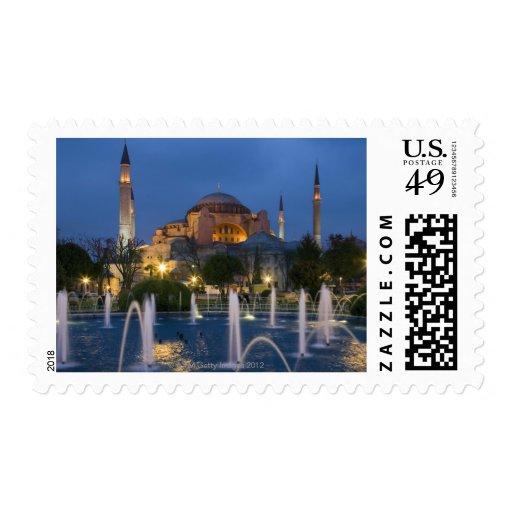 Blue mosque, Istanbul, Turkey Postage