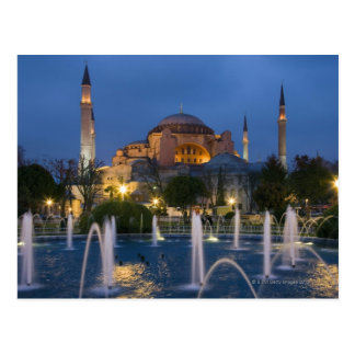 Blue mosque, Istanbul, Turkey Postcard