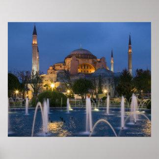 Blue mosque, Istanbul, Turkey Print