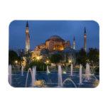 Blue mosque, Istanbul, Turkey Rectangular Photo Magnet