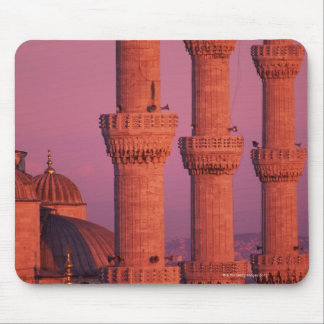 Blue Mosque Mouse Pad