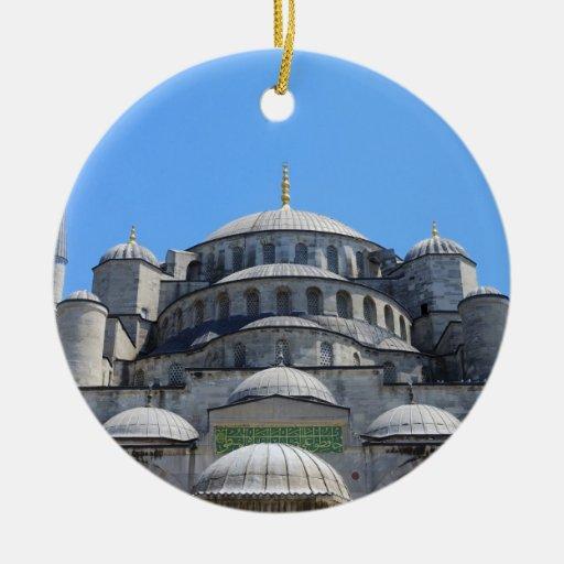Blue Mosque Ornament