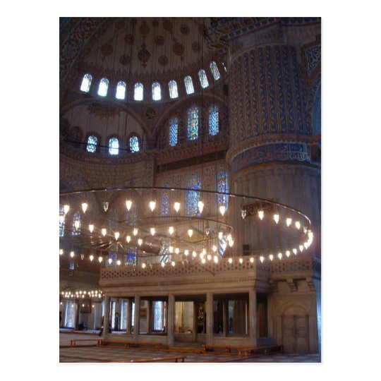 Blue Mosque Postcard