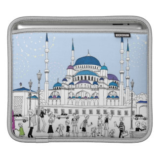 Blue Mosque Sleeve For iPads