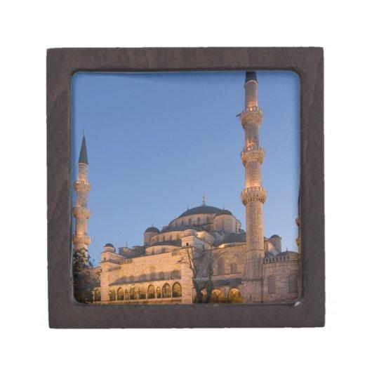 Blue Mosque, Sultanhamet Area, Istanbul, Turkey 2 Keepsake Box