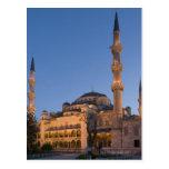 Blue Mosque, Sultanhamet Area, Istanbul, Turkey 2 Postcard