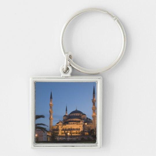 Blue Mosque, Sultanhamet Area, Istanbul, Turkey Keychain