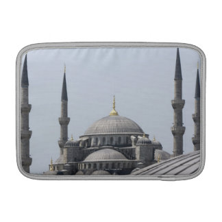Blue Mosque with the curve of the main dome MacBook Air Sleeve