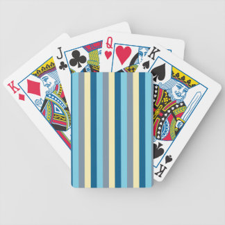 Blue Motion by Shirt to Design Bicycle Playing Cards