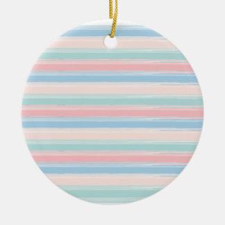 Blue Motion by Shirt to Design Ceramic Ornament