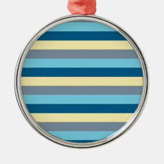 Blue Motion by Shirt to Design Metal Ornament