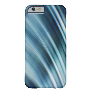 Blue Motion Trails Digital Art Phone Case
