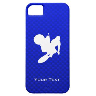 Blue Motocross Whip iPhone SE/5/5s Case