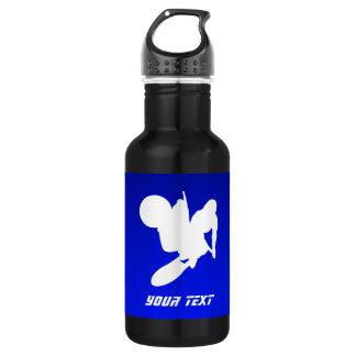 Blue Motocross Whip Water Bottle