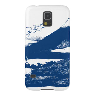 Blue Mount Fuji Case For Galaxy S5
