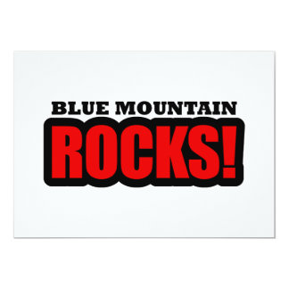 Blue Mountain, Alabama City Design Card