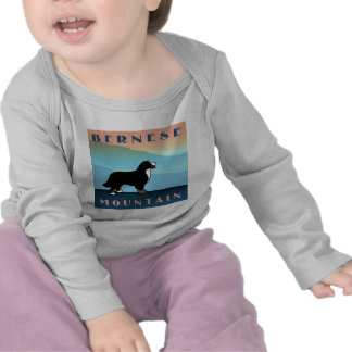 Blue Mountain Bernese Dog T Shirts