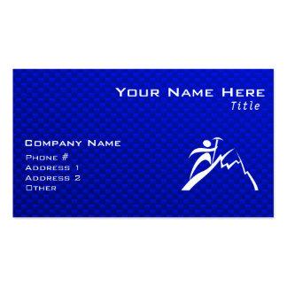 Blue Mountain Climbing Business Card Templates