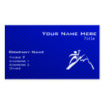 Blue Mountain Climbing Business Card Templates