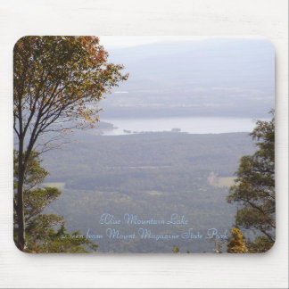 Blue Mountain Lake from Mount Magazine State Park Mouse Pad