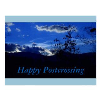 Blue Mountain Postcrossing Postcard