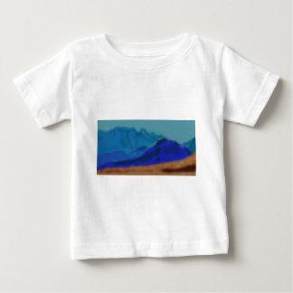 Blue Mountains Art Baby T-Shirt