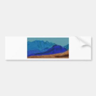 Blue Mountains Art Bumper Sticker