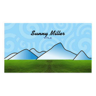 Blue Mountains Business Cards