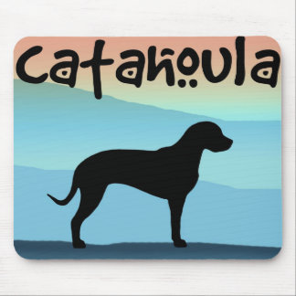 Blue Mountains Catahoula Mouse Pad